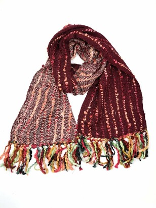 Cool Trade Winds ECO FRIENDLY - UPCYCLED YARN - SUPER SOFT WINTER SCARF FOR LADIES 2 fashionable colour-ways
