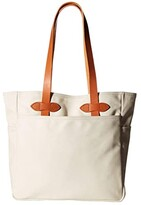 Filson Tote Bag Without Zipper (Natural) Tote Handbags
