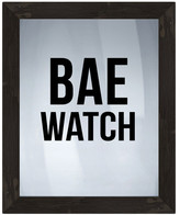PTM Images Bae Watch Framed Silkscreen Glass Wall Art - 21\