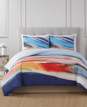 Vince Camuto Home Vince Camuto Allaire 3 Piece Duvet Set, Full/Queen Bedding