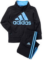 adidas Infant Boys) Two-Piece Embossed Web Track Jacket & Pants Set