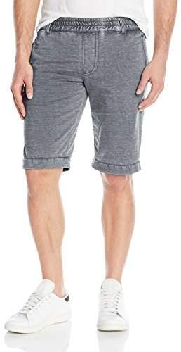 Jet Lag Men's Burnout Flat Front Knit Short