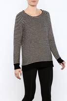0039 Italy Striped Sweater
