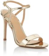 Lipsy Mirror Metallic Sandals