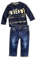 GUESS Belden Tee and Jeans Set (12M-4T)
