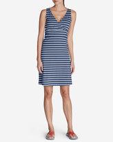 Eddie Bauer Women's Aster Lily Wrap Dress - Stripe