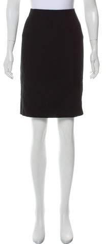 Virgin Wool Knee-Length Skirt w- Tags