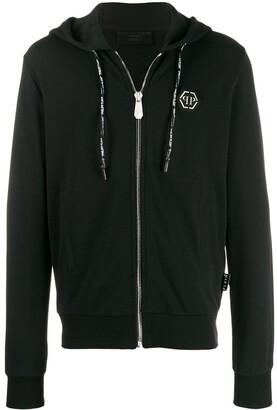 Philipp Plein Skull studded zipped hoodie