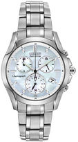 Citizen Ladies' Eco-Drive Silver-Tone Chronograph Watch