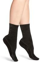 Nordstrom Women's Crushed Velvet Trouser Socks