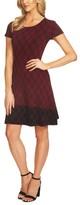 CeCe Women's Plaid Sweater Dress