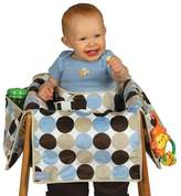 Leachco Diner Liner® Plush Booster Chair Liner in Boy Dot