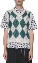 Marni Argyle Wool Vest