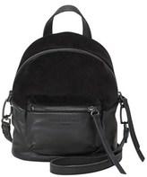Liebeskind Berlin Jessi Velvet And Leather Mini Backpack.
