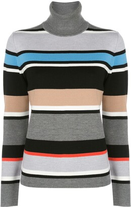 Aztech Mountain Matterhorn turtle neck stripe jumper