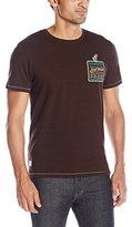 Buffalo David Bitton Men's Nicheck Crewneck Short Sleeve T-Shirt