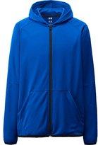 Uniqlo Men Dry Ex Full Zip Hooded Jacket