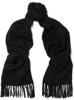 Iris and Ink Rhea Fringed Cashmere Scarf