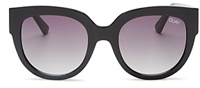Quay Women's Limelight Round Sunglasses, 55mm