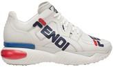 Fendi white Mania low-top sneakers