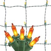 Philips Halloween LED 90 ct Mini Net Lights - Orange