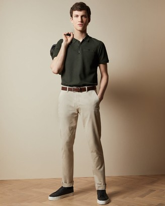 Ted Baker Cotton Slim Fit Chinos