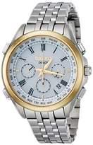 Dolce & Gabbana Dolce] DOLCE watch DOLCE Solar radio Chronograph World Time function SADA038 Men's