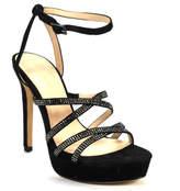 Pelle Moda Oak - Metallic Platform Sandal