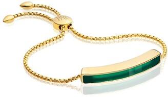 Monica Vinader Baja Green Onyx bracelet