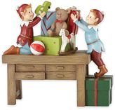 Kathy Ireland Home® by Gorham Once Upon a Christmas Elves at Work Figurine