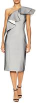 Jay Godfrey Bonn Ruffle Overlay Dress
