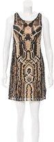 Diane von Furstenberg Neapoli Macremé Dress