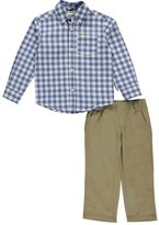 "Carter's Little Boys' Toddler ""Gingham Bear"" 2-Piece Outfit"
