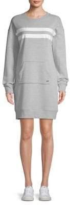 Andrew Marc Long-Sleeve Sweatshirt Dress