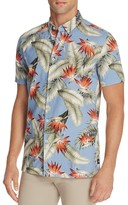 Barney Cools Floral Romeo Slim Fit Button Down Shirt