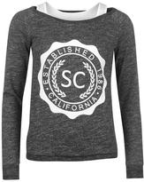 Soul Cal SoulCal Double Layer Sweater Ladies