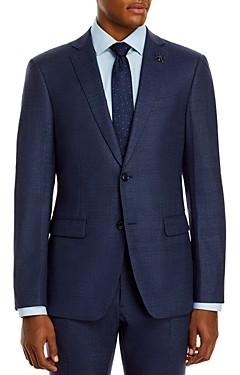 John Varvatos Slim Fit Birdseye Suit Jacket