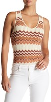 Ale By Alessandra Thais Sleeveless Knit Bodysuit