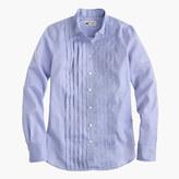 Thomas Mason for J.Crew tuxedo shirt in blue