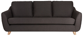 Sixty Seven G Plan Vintage The Large Sofa, Tonic Charcoal
