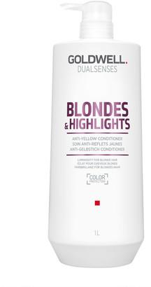 Goldwell Dualsenses Blonde & Highlights Anti-Yellow Conditioner 1000Ml