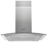 Hotpoint PHGC7.5FABX Chimney Cooker Hood, Stainless Steel