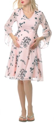 Kimi and Kai Alima Floral Maternity Dress