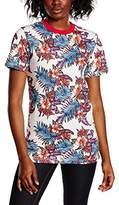House of Holland Women's Paradise Flower Print T-Shirt,8