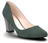 Women's Shoes Of Prey Block Heel Pump