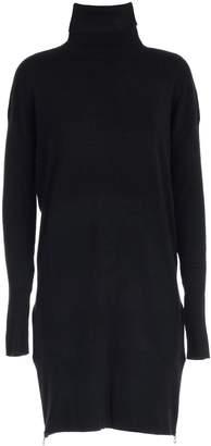 MICHAEL Michael Kors Sweater Long Turtle Neck W/zide Zip