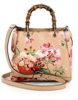 Gucci Bamboo Shopper Mini Blooms Bag