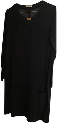 Masscob Black Viscose Dresses
