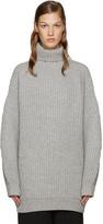 Acne Studios Grey Wool Isa Turtleneck