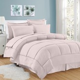 Sweet Home Collection Sweethome Collection Hotel Dobby Embossed Bedding Set